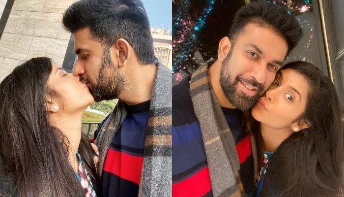 दिल्ली की सर्दी में प्यार बिखेरते नजर आए चारु ओसपा और राजीव सेन, देखिए कपल की रोमांटिक तस्वीरें