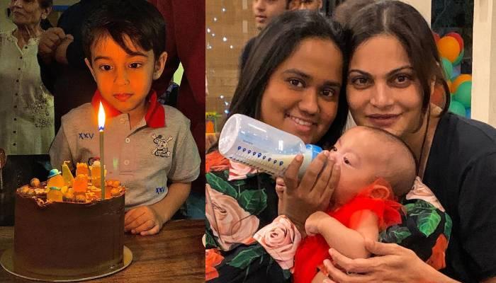 लाडले भांजे आहिल शर्मा के जन्मदिन पर क्या कर रहे हैं सलमान खान? यहां देखें फोटोज