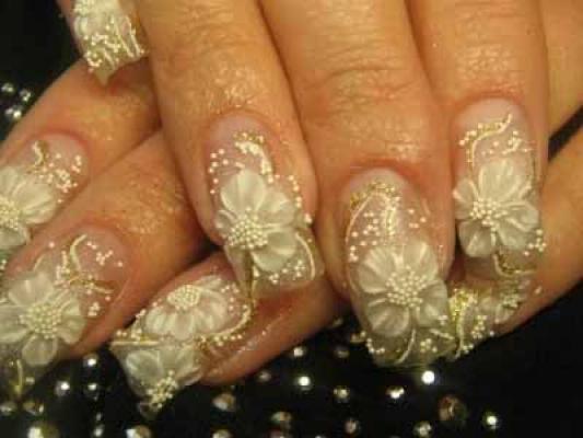 Glamorous nail art styles bollywoodshaadis photo gallery prinsesfo Image collections