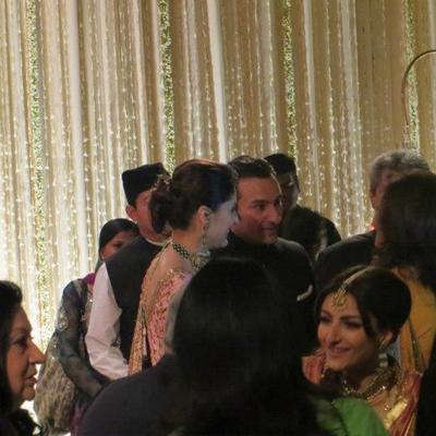 Saif Kareena Wedding Reception At Pataudi Palace