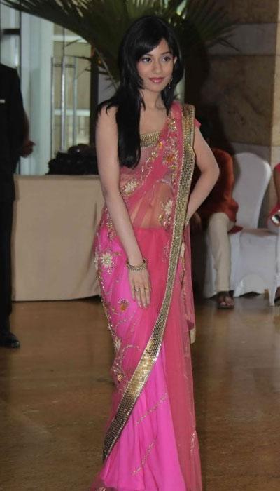 Amrita Rao at Riteish Genelia Wedding bash