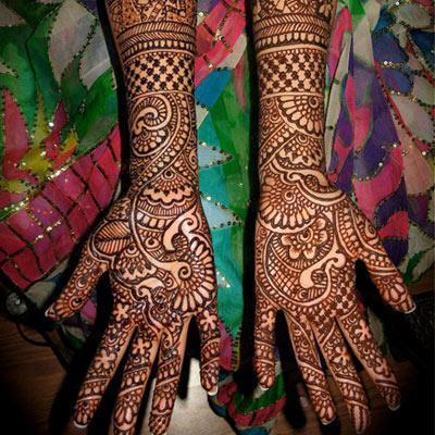 Top Bridal Mehendi Designs
