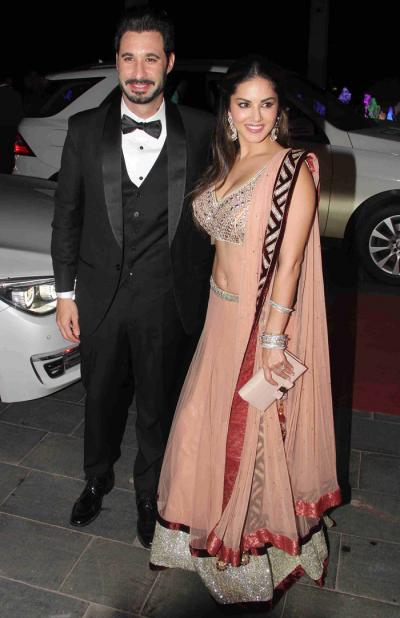 Bollywood Celebs At Grand Wedding Reception Of Tulsi Ar And Hitesh Ralhan