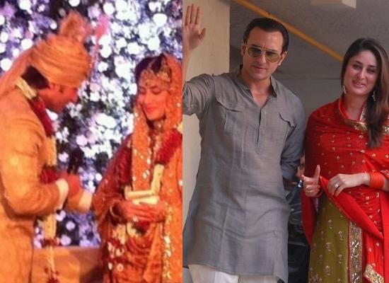 2. Kareena Kapoor Khan and Saif Ali Khan