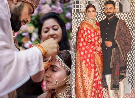 6. Anushka Sharma and Virat Kohli