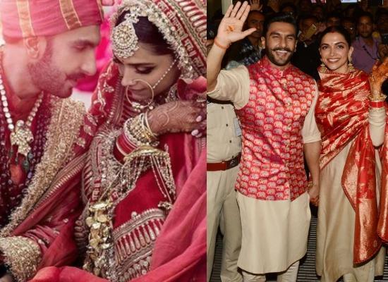 9. Deepika Padukone and Ranveer Singh